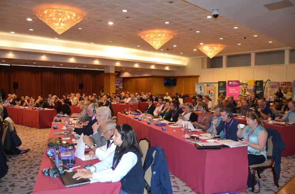 ENOS at the EU Sport Forum in Malta.