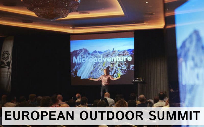 ENOS was at the European Outdoor summit.