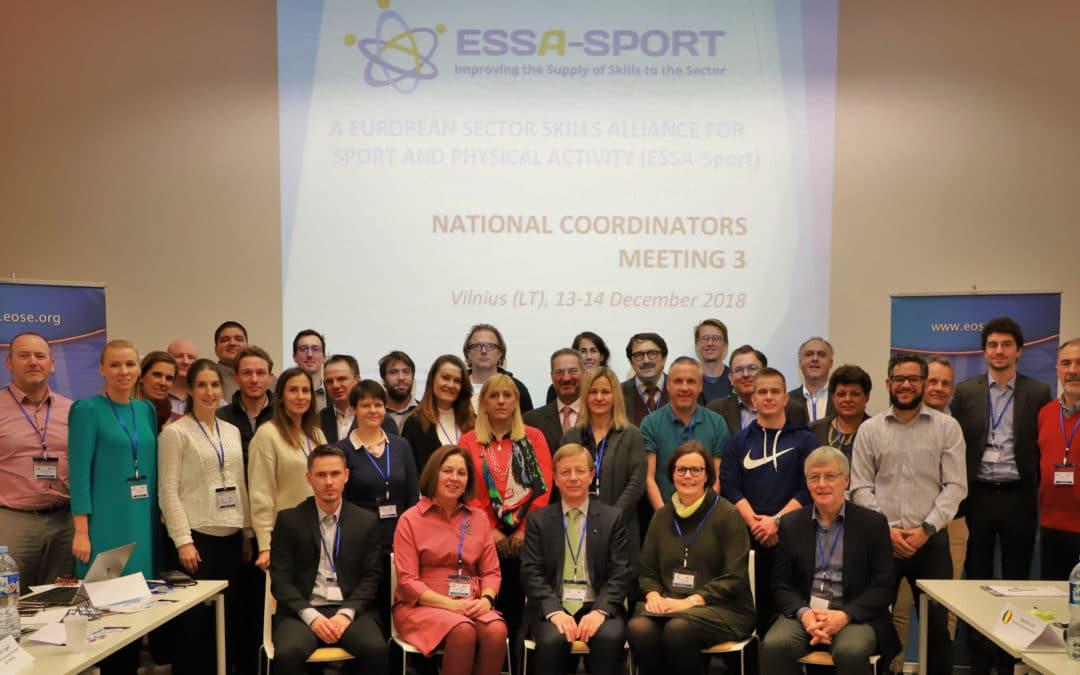 ESSA-Sport Coordinators Meeting