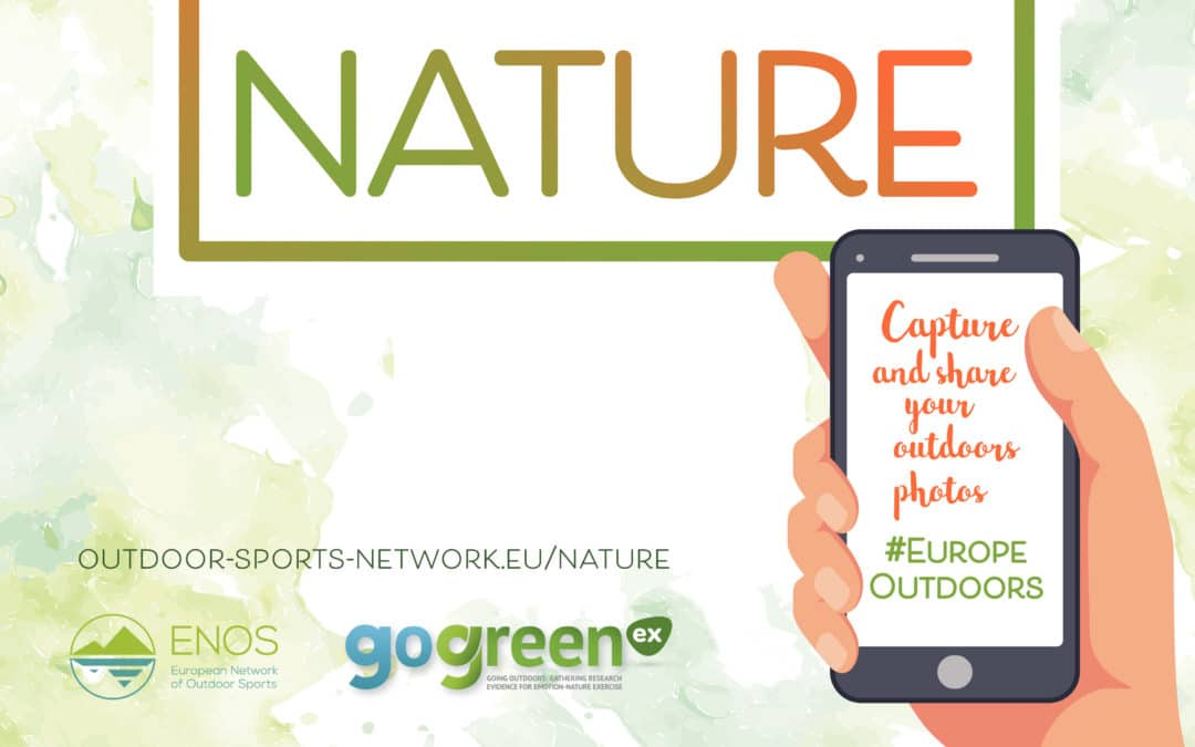NATURE  – A GoGreenEx / ENOS initiative to address social isolation and sedentary lifestyles during the health crisis