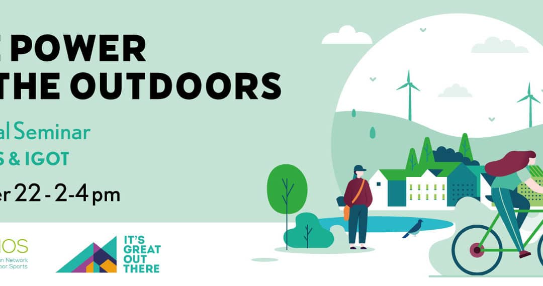 The power of the outdoors – A follow up event to the European Week of Regions and Cities Green Week