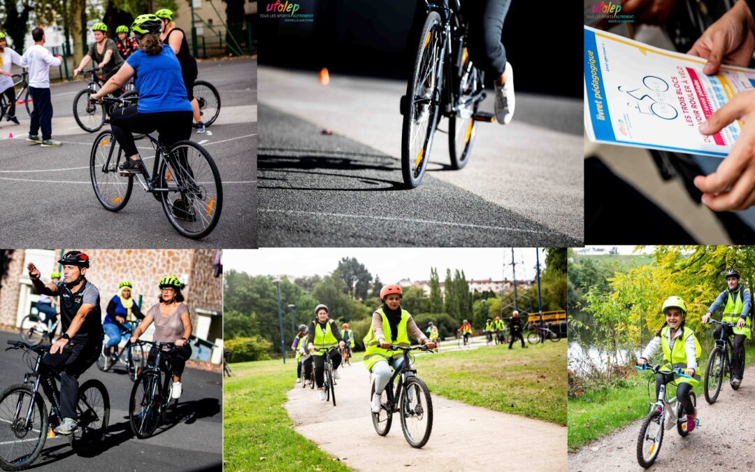 """""""Ensemble à Vélo"""" by UFOLEP, France – Cycling together, showcasing and promoting the social dimension of cycling and the connection between active transportation and outdoor sports"""