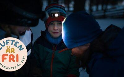 Luften är fri 2021 – Year of outdoor sports and recreation in Sweden