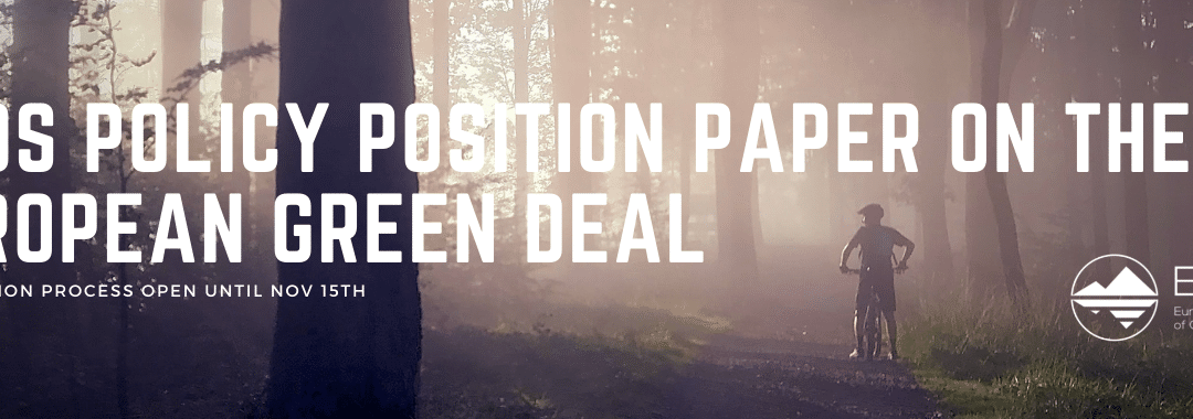 ENOS Policy paper on the Green Deal open for consultation